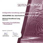 Thermalbrot Seitensprünge Designpreis IHM 2011