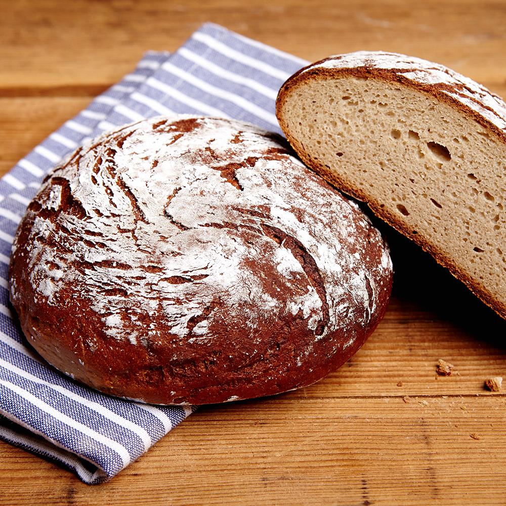 Brot ohne Saaten Glutenfrei