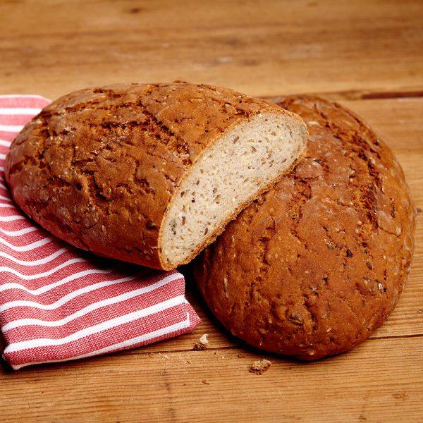 Glutenfreies Brot mit Saaten