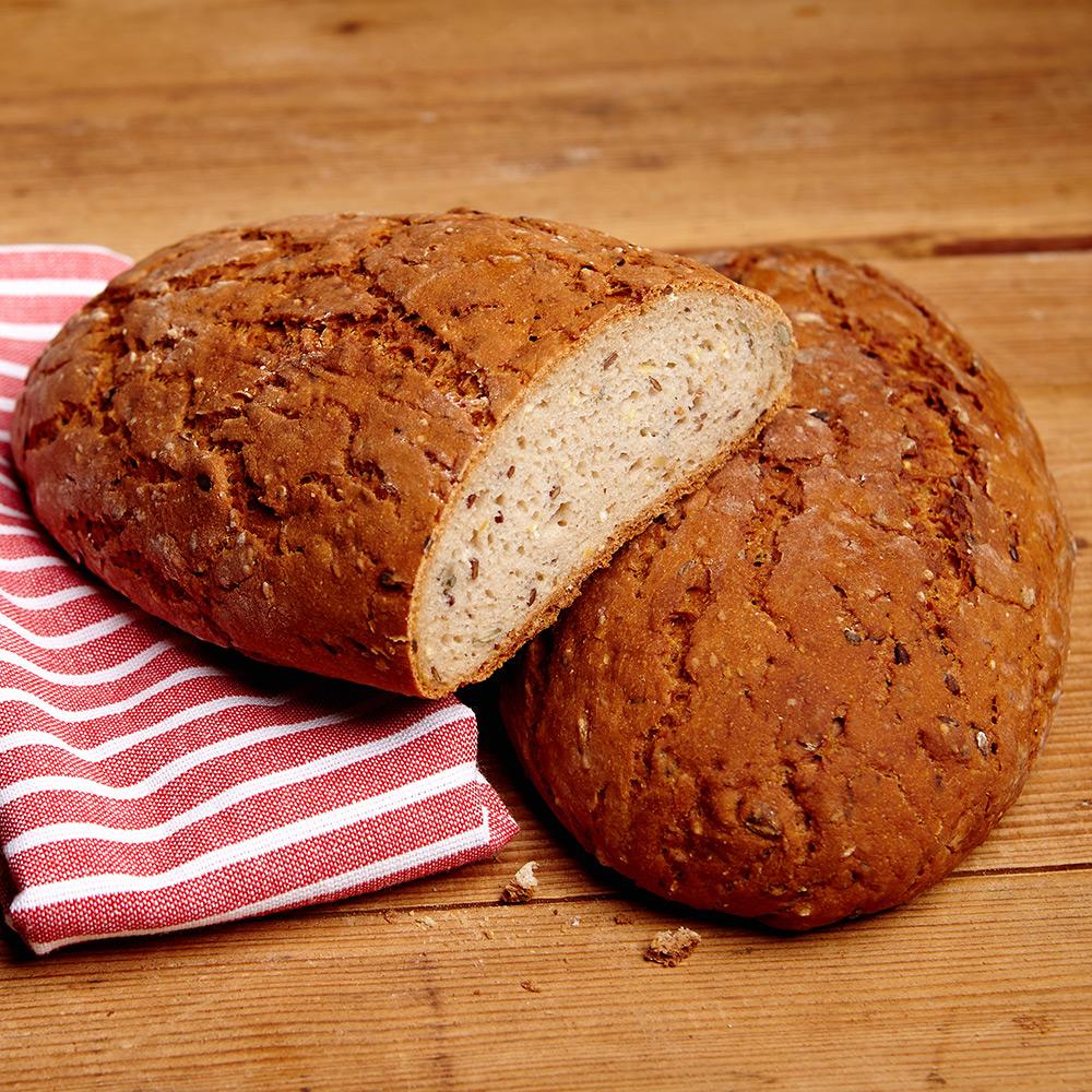 Brot mit Saaten Glutenfrei